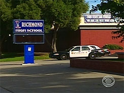 RICHMOND HIGH SCHOOL SIGN